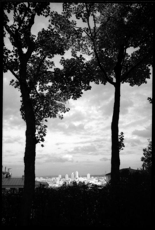 Vu de Monmartre